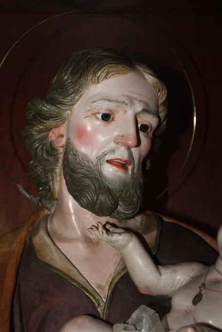 Un inedito di Giuseppe Sarno: san Giuseppe con Gesù Bambino presso la chiesa teresiana di Gallipoli