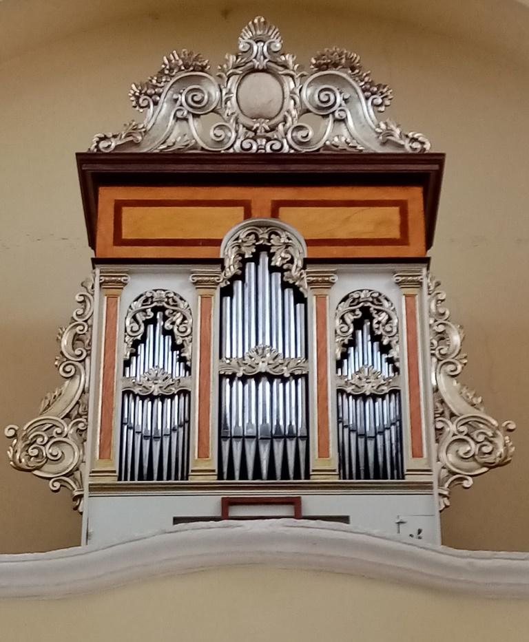 """L'organo a canne """"Vincenzo De Micheli"""" della chiesa parrocchiale di Tutino"""