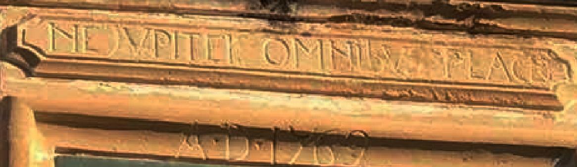 Maglie, un'epigrafe del 1769 dal contenuto millenario ma con l'aggiunta moderna di un errore