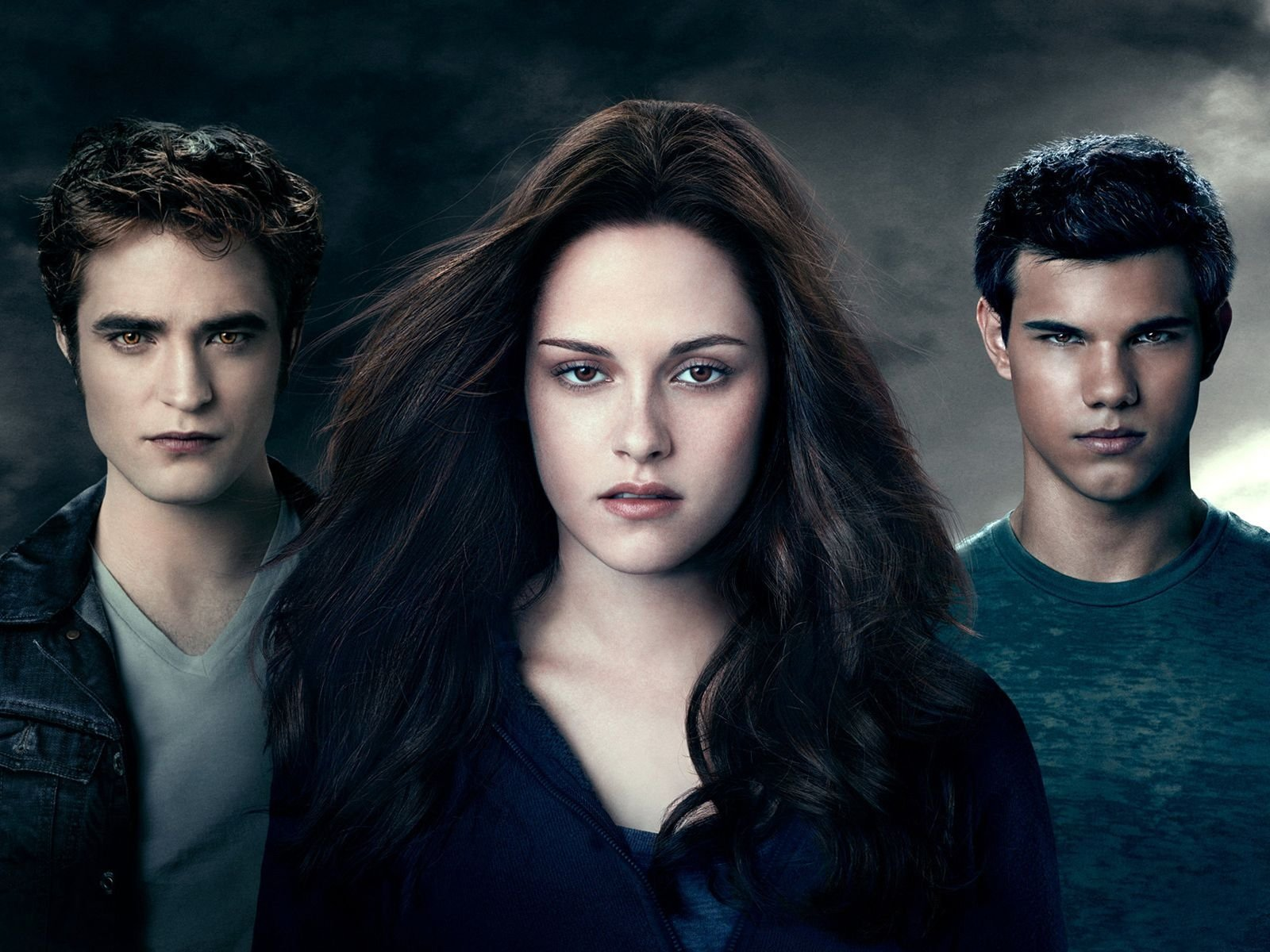 Bella, Edward y Jacob HD