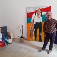 Labégorre-à-St-Rémy-de-Provence,-arrivée-des-toiles,-avec-Jean-Michel,-12-mars-2020-#16