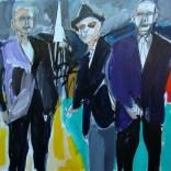 Les trois compagnons, Serge Labégorre 2020, 30P 65x92 cm at#03