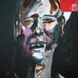 L'homme à la pensée, Serge Labégorre 2020, 8P 46x33 cm Détail at#05