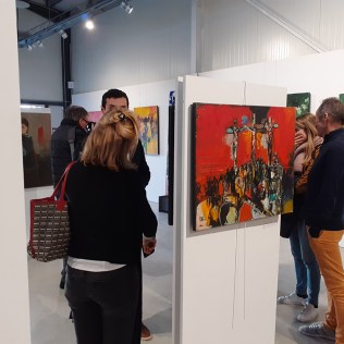 Vernissage-Cara-Costea,-Fonds-Labégorre-Février-2020-#09
