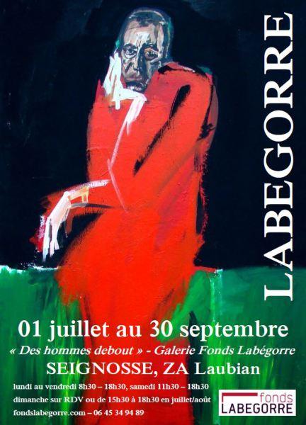 Exposition Serge Labégorre - Des Hommes Debout - 2016