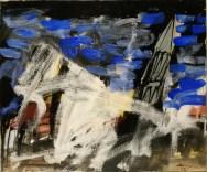 Basilique du Lot, Labégorre 2012, 10F 46x55 cm acrylique sur toile