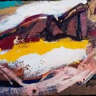 Deux baigneuses à Hossegor. Labégorre 1965_4P 22x33 cm acrylique sur toile