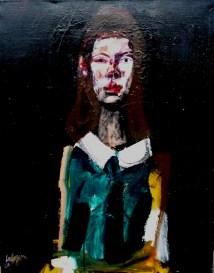 Florence_Labegorre 2009_81x65 cm 25F acrylique sur toile