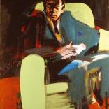Lhomme-au-fauteuil-vert-2005-Serge-Labégorre-146x114-coll-p© Serge Labégorre