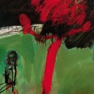 L'homme au verger, Serge Labégorre 2007 _ 73x100 cm 40P acrylique sur toile