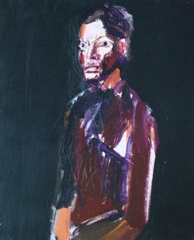 Marie-Pierre, Serge Labegorre 2010_100x81 cm 40F acrylique sur toile
