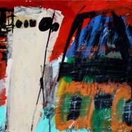 Poste EDF, Serge Labegorre 2007_38x55 cm 10P acrylique sur toile
