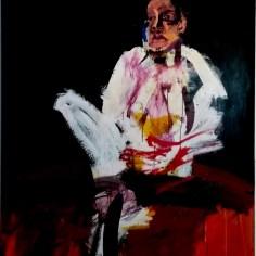 300_Etude pour un portrait, Labégorre 2002_195x130 cm 120F at #03w