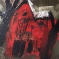Cottage dans le Sussex, Serge Labégorre 1972, 50 x 65 cm 15P at#03