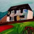 Etude pour la maison de Mène, Labégorre 2016, 38x46 cm 8F at #02