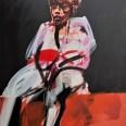 Femme, Serge Labégorre 1998, 195x130 cm 120F at#03