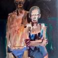 Le bain de minuit, Serge Labégorre2010, 146 x 114 cm 80F at#02