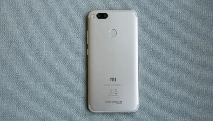 Xiaomi Mi A1 Back view