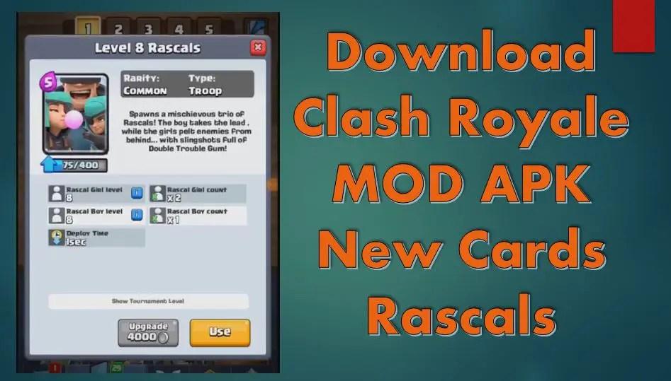 download clash royale mod version