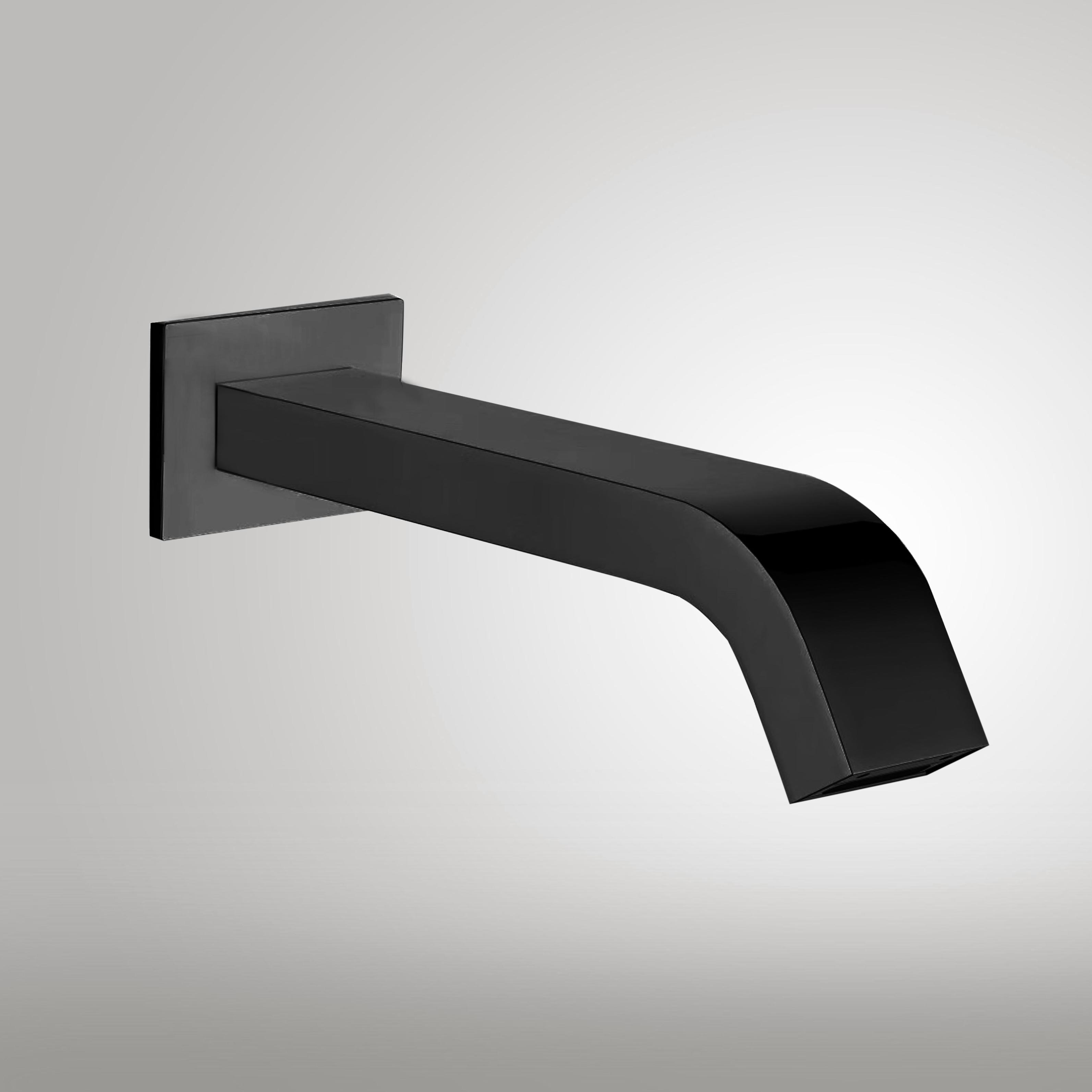 fontana commercial automatic wall mount dark oil rubbed bronze sensor bathroom faucet