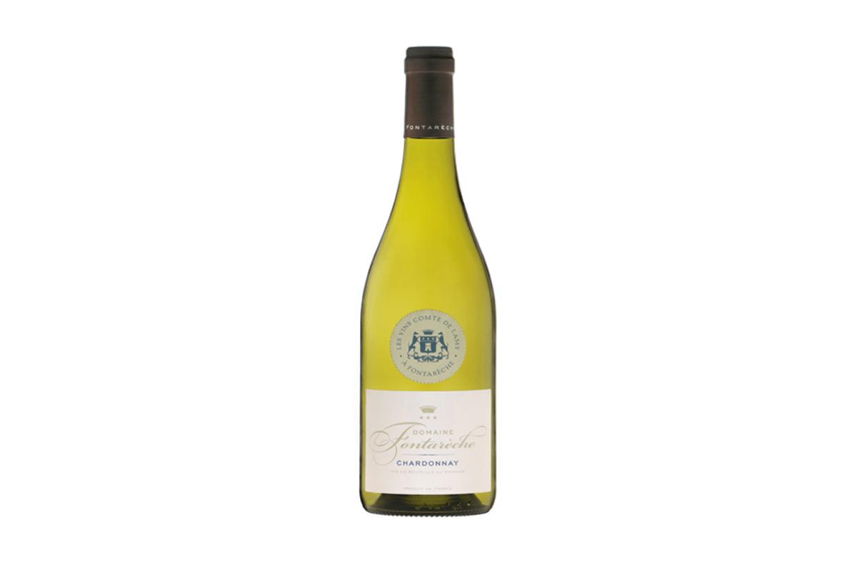 vin blanc corbieres chardonnay fontareche