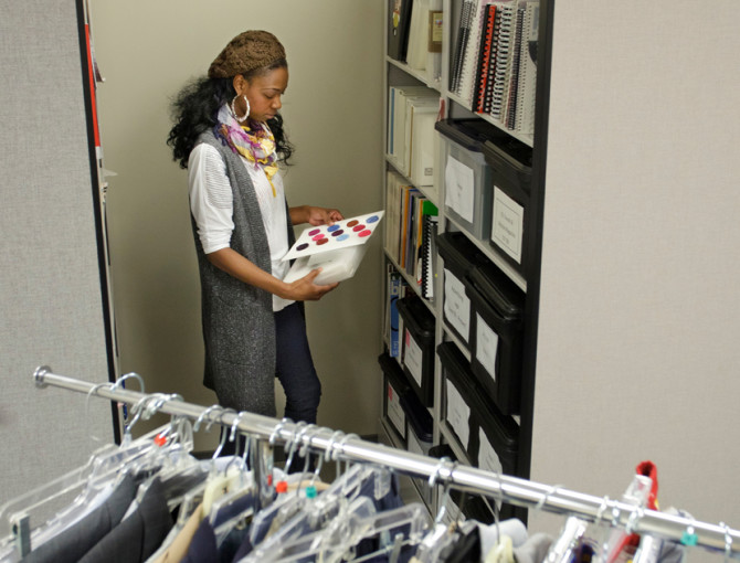 Fashion Merchandising     Fontbonne University In a business setting  fashion merchandising professionals use product  lifestyle management software to track products from their inception to  their