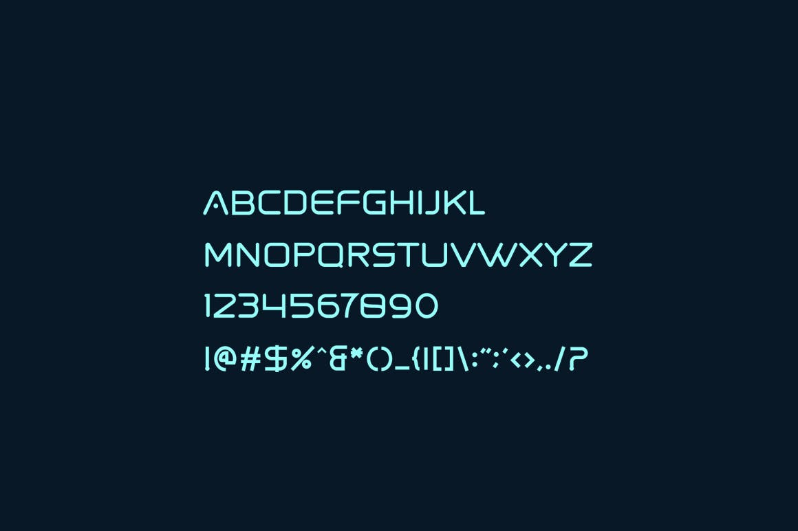 Spaced-Display-Font-3