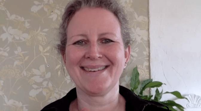 Besøk av psykiater Anne Kristine Bergem på Webex