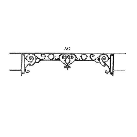 Balcons De Fenetres Et Terrasses Barre D Appui Ao5
