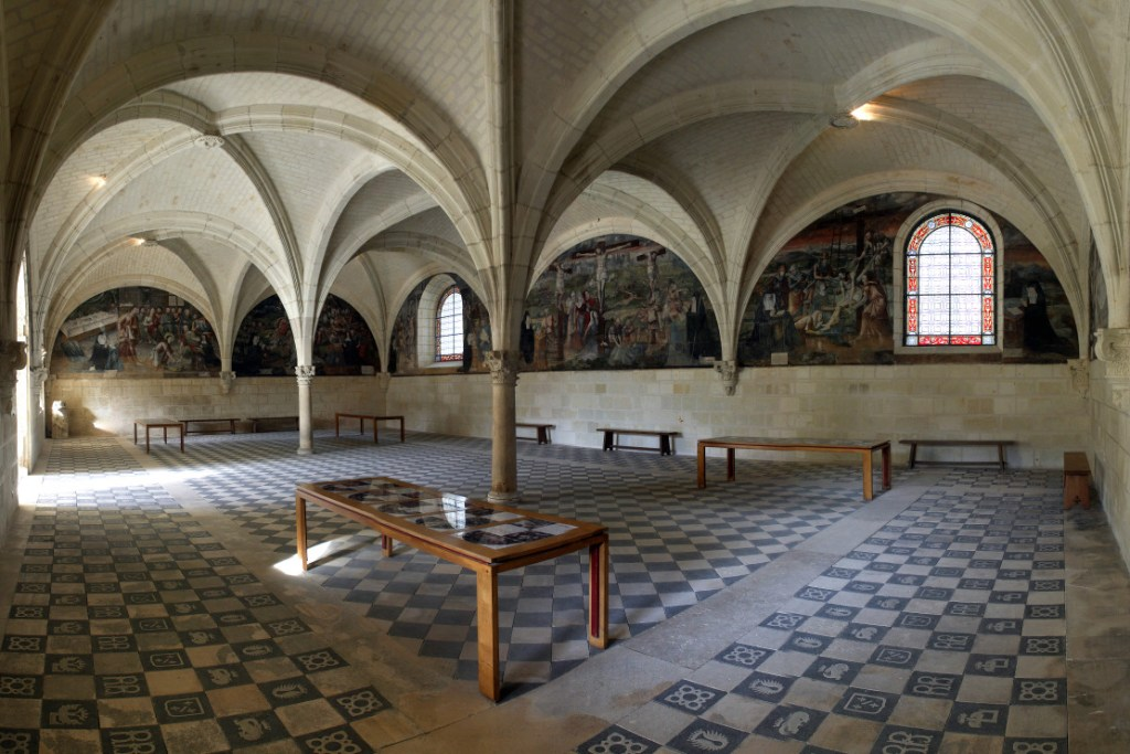 Salle capitulaire de Fontevraud