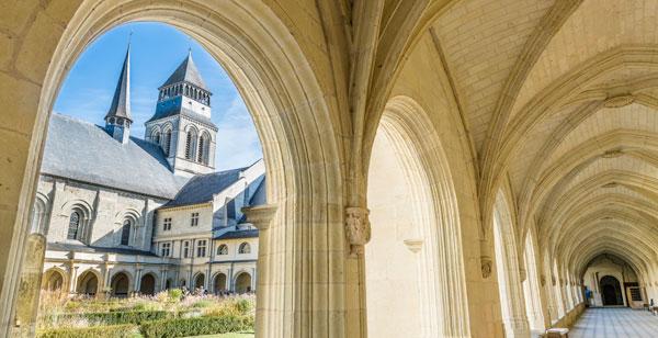 Cloitre de l'abbaye de Fontevraud
