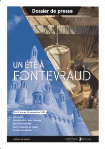2021 - Dossier de presse - Un été à Fontevraud