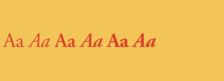 Download Adobe Garamond Complete Family Pack   Fonts.com