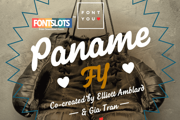 Paname FY Font