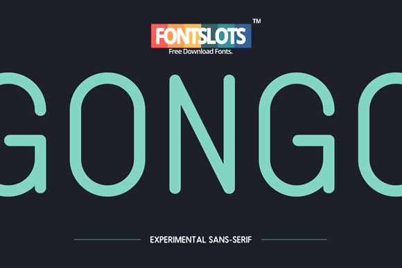 Gongo Font