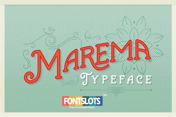Marema Font