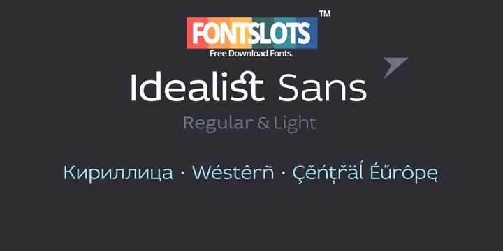 Idealist Sans Font