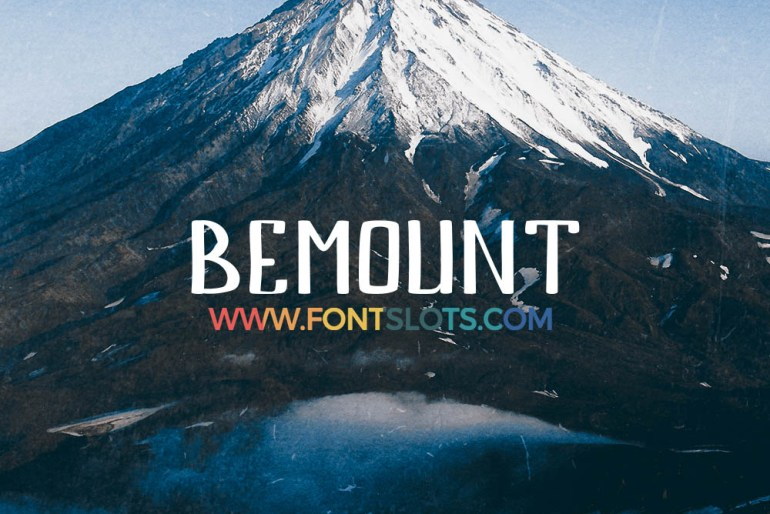 Bemount Font