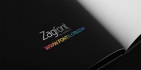 Zag Font