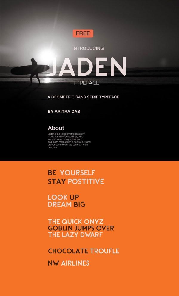 Jaden Typeface