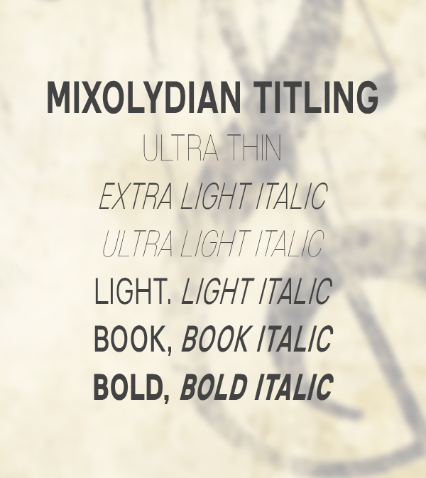 Mixolydian Titling
