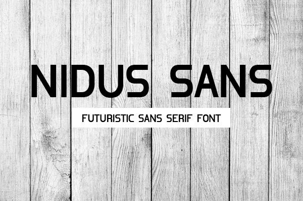 Nidus Sans Font