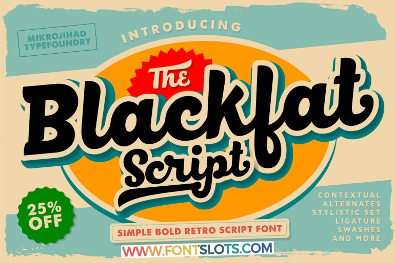 BlackFat Font