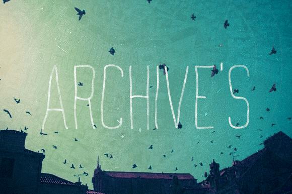 Archives Font