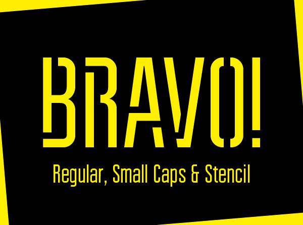 Bravo Typeface Font