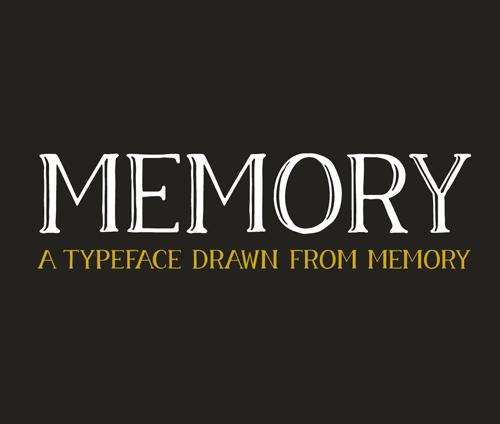 Memory Font