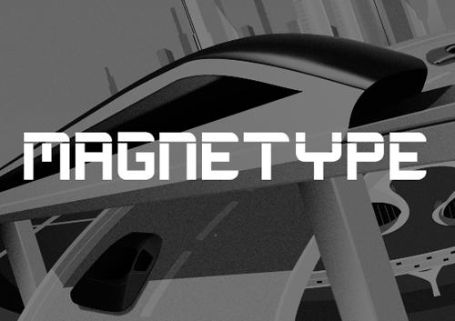 Magnetype Font