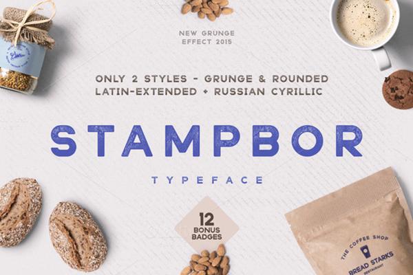 Stampbor Font | Font Slots