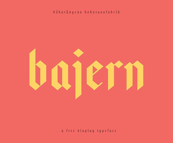 Bajern Font