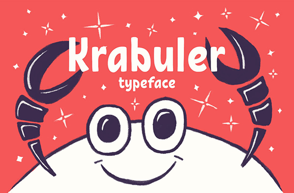 Krabuler Typeface Font